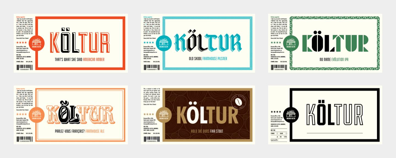 brewing koltur labels
